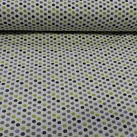 Bavlnená látka Farebný puntík II 2d6161e4c2d
