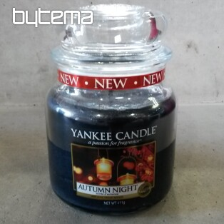 sviečka YANKEE CANDLE vôňa AUTUMN NIGHT