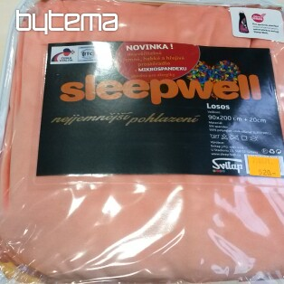 plachta MIKROSPANDEX 90/200 SLEEP WELL losos