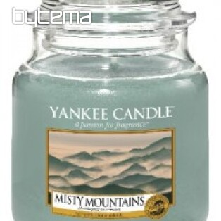 sviečka YANKEE CANDLE vôňa MISTY MOUNTAINS