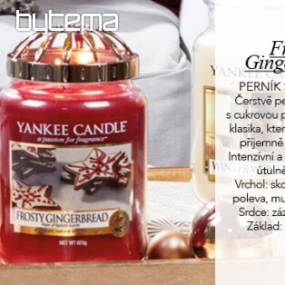 YANKEE CANDLE vôňa FROSTY GINGERBREAD
