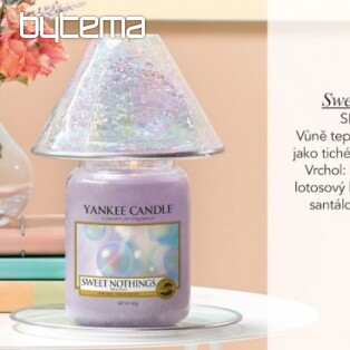 sviečka YANKEE CANDLE vôňa SWEET NOTHINGS
