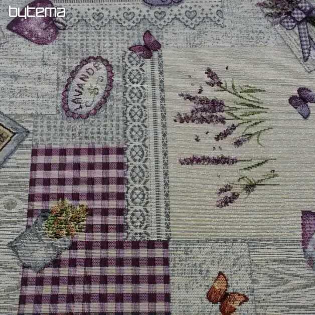 cba575a1fbf6 Gobelínová látka Kvety z Provence šírka NEW 280 cm